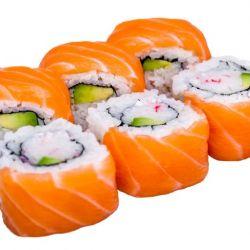 Sushi met verschillende vullingen
