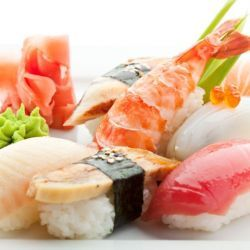 Bier bij de sushi maar natuurlijk