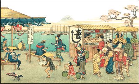 Sushi geschiedenis